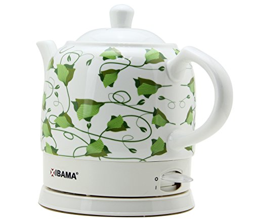 Ibama Ceramic Electric Kettle Cordless Water Teapot 1 2l