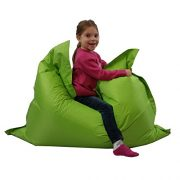 Kids-BeanBag-Large-6-Way-Garden-Lounger-GIANT-Childrens-Bean-Bags-Outdoor-Floor-Cushion-LIME-100-Water-Resistant-0-2