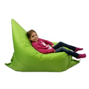 Kids-BeanBag-Large-6-Way-Garden-Lounger-GIANT-Childrens-Bean-Bags-Outdoor-Floor-Cushion-LIME-100-Water-Resistant-0
