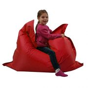 Kids-BeanBag-Large-6-Way-Garden-Lounger-GIANT-Childrens-Bean-Bags-Outdoor-Floor-Cushion-RED-100-Water-Resistant-0-0