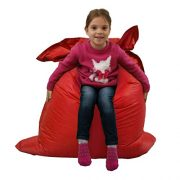 Kids-BeanBag-Large-6-Way-Garden-Lounger-GIANT-Childrens-Bean-Bags-Outdoor-Floor-Cushion-RED-100-Water-Resistant-0-1