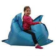 Kids-BeanBag-Large-6-Way-Garden-Lounger-GIANT-Childrens-Bean-Bags-Outdoor-Floor-Cushion-TEAL-AQUA-BLUE-100-Water-Resistant-0-0