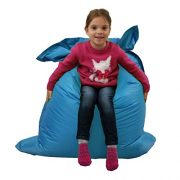 Kids-BeanBag-Large-6-Way-Garden-Lounger-GIANT-Childrens-Bean-Bags-Outdoor-Floor-Cushion-TEAL-AQUA-BLUE-100-Water-Resistant-0-1