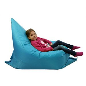 Kids-BeanBag-Large-6-Way-Garden-Lounger-GIANT-Childrens-Bean-Bags-Outdoor-Floor-Cushion-TEAL-AQUA-BLUE-100-Water-Resistant-0