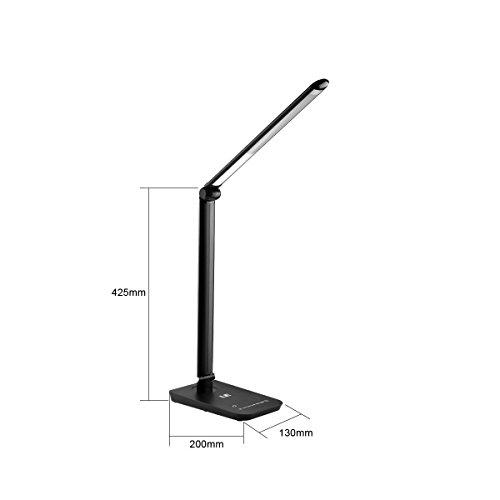 Le Dimmable Led Desk Lamp Eye Care Folding Table Lamps