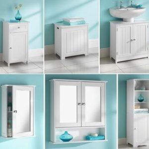 MAINE-WHITE-BATHROOM-MIRRORED-SINGLE-DOOR-DOUBLE-DOOR-NARROW-1-DRAWER-1-DOOR-UNDERSINK-TALLBOY-CABINET-0