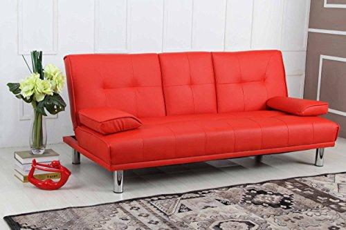 New Sleep Design Manhattan Modern Faux Leather Fold Down