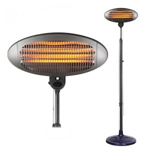 Oypla-Electrical-2KW-Quartz-Free-Standing-Outdoor-Electric-Garden-Patio-Heater-0