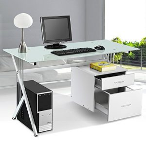 PC-Office-Table-Desk-Desktop-With-Two-Drawers-0