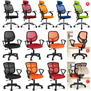 Popamazing-Multicolor-Swivel-Stylish-Fabric-Mesh-Office-Furniture-Excutive-Desk-Chair-New-0