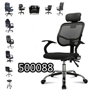 Popamazing-Office-Leather-Swivel-Chair-Black-Collection-0