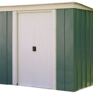 Rowlinson-6-x-4ft-Metal-Pent-Sheds-0