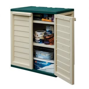 Rowlinson-Plastic-Utility-Cabinet-Green-and-White-0