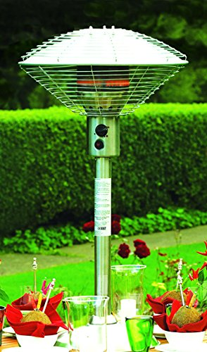 Sahara Stainless Steel Table Top Patio Heater Silver