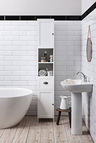 Stow Tallboy Bathroom Cabinet Hallway Storage Unit In