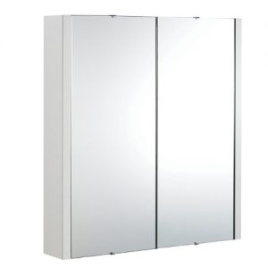 Trueshopping-900mm-Gloss-White-Minimalist-Bathroom-Mirror-Storage-Cabinet-Unit-With-2-Internal-Shelves-Wall-Mounted-0