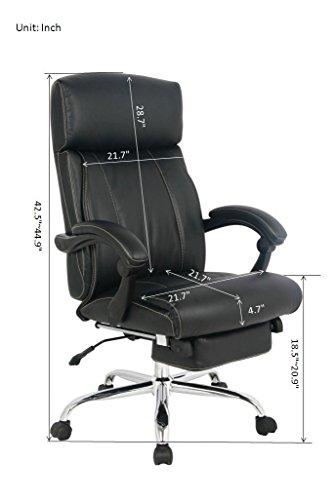 Viva Office 174 Latest High Back Ergonomic Bonded Leather