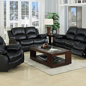 Valencia-Black-Recliner-Leather-Sofa-Suite-32-Seater-Brand-New-12-Months-warranty-FREE-DELIVERY-0