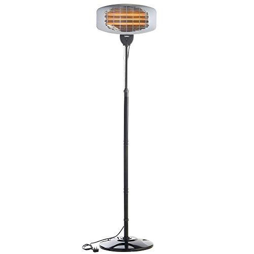Vonhaus 2000w Free Standing Electric Garden Patio Heater