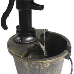 Woodside-Ornamental-GardenPond-Classic-Water-Pump-Feature-Decoration-0