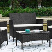 4pcs-Effect-Rattan-OutdoorIndoor-Garden-Coffee-Table-And-Chairs-Set-Dark-Brown-0-0