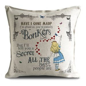 Alice-in-Wonderland-Mad-Hatter-Tea-Party-Cushion-Cover-Bonkers-Hearts-0