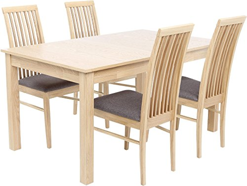 Brooklyn-4-6-Seat-Extending-Dining-Table-with-4-Chairs-Beech-Effect-0