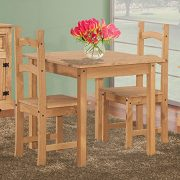 Corona-Solid-Pine-Square-Dining-Table-Chairs-Not-Included-0-2