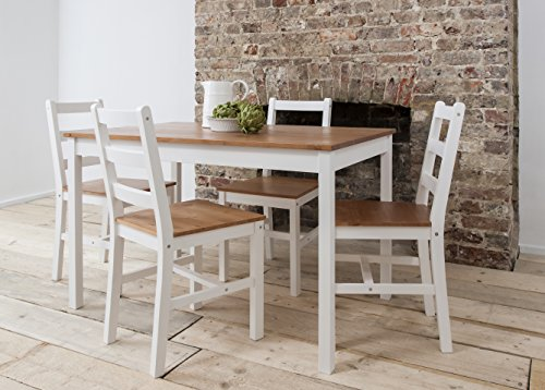 Dining-Table-4-Chairs-Annika-in-White-and-Natural-Pine-Noa-Nani-0