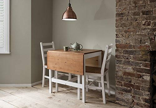 Dropleaf Dining Table With Chairs Kitchen Spacesaving