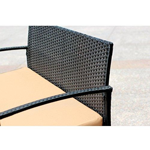 EBS Outdoor Rattan Garden Furniture Patio Conservatory