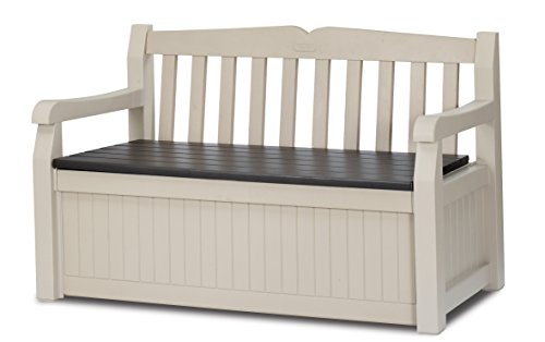 Keter Eden Garden Bench And Cushion Box 265 L House And Garden Store