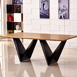 Large-ELVIRA-Modern-Chic-Rustic-Metal-Wood-Dining-Table-8-10-12-Seater-0