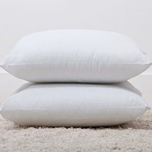 Luxury-Polycotton-Bounce-Back-Fibre-Cushion-Pads-18x-18-2-Pack-Made-by-Bedding-Direct-0