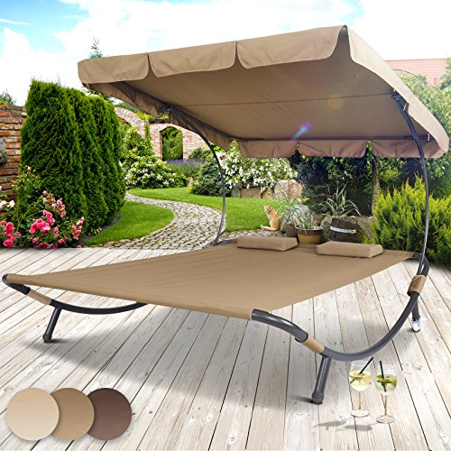 Miadomodo Sun Lounger Double Day Bed Hammock Chaise