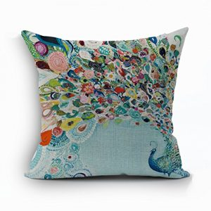 Nunubee-Vintage-Peacock-Home-Pillow-Cover-Cotton-Linen-Bed-Pillowcase-Square-Cushion-0