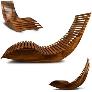 Wooden-Sun-Lounger-Garden-Patio-Deck-Chair-Curved-Sauna-Seat-0