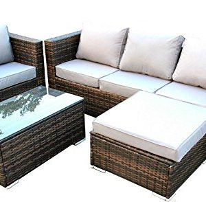Yakoe-51011-New-Rattan-Garden-Furniture-Sofa-Table-Chairs-Set-0