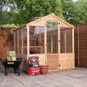4x6-Evesham-Wooden-Greenhouse-Shiplap-TG-Shatterproof-Glazing-By-Waltons-0-2