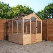 4x6-Evesham-Wooden-Greenhouse-Shiplap-TG-Shatterproof-Glazing-By-Waltons-0-4