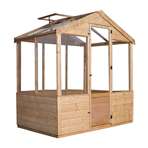 4x6-Evesham-Wooden-Greenhouse-Shiplap-TG-Shatterproof-Glazing-By-Waltons-0