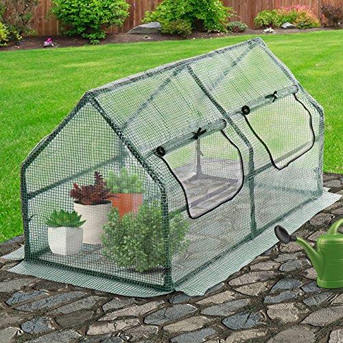 Jago-Greenhouse-Growbox-Choice-of-Sizes-Garden-Growhouse-Anti-UV-Lattice-Foil-Hothouse-0