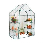 Oypla-3-Tier-4-Shelf-Mini-Walk-in-Growhouse-Garden-Greenhouse-0-0
