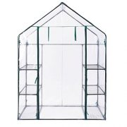 Oypla-3-Tier-4-Shelf-Mini-Walk-in-Growhouse-Garden-Greenhouse-0-1