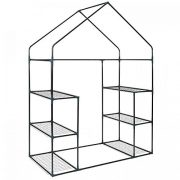 Oypla-3-Tier-4-Shelf-Mini-Walk-in-Growhouse-Garden-Greenhouse-0-2