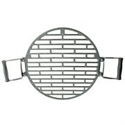 Black-Barrel-Charcoal-BBQ-w-Cast-Iron-Adjustable-Grill-Garden-Camping-Barbeque-0-3