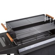 Deluxe-Trolley-Charcoal-Barbecue-Side-Shelves-Portable-0-0