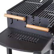Deluxe-Trolley-Charcoal-Barbecue-Side-Shelves-Portable-0-2