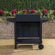 Deluxe-Trolley-Charcoal-Barbecue-Side-Shelves-Portable-0-6