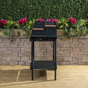 Deluxe-Trolley-Charcoal-Barbecue-Side-Shelves-Portable-0-7